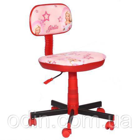 Кресло детское Киндер Girlie (пластик красный ) 120163