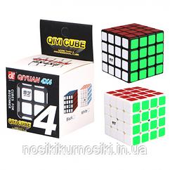 Кубик Рубика 4*4 Qiyi Cube черный корпус