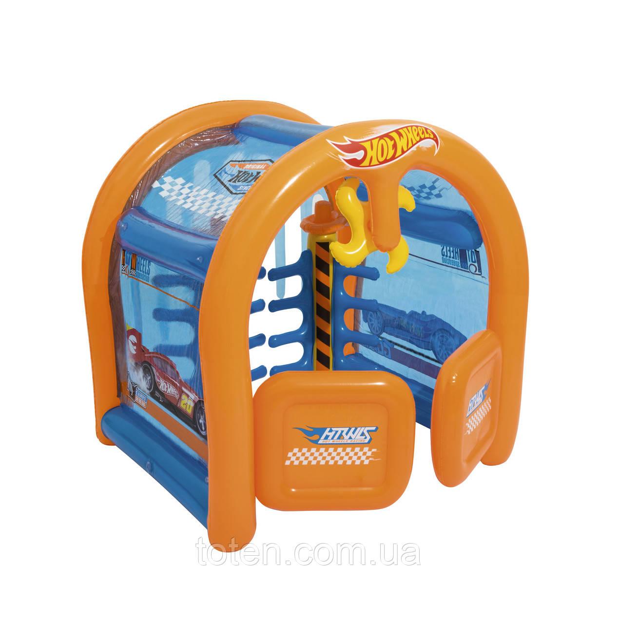 """Детский игровой центр Hot Wheels 93406 """"Автомойка"""", с распылителем, 191 х 173 х 203 см"""