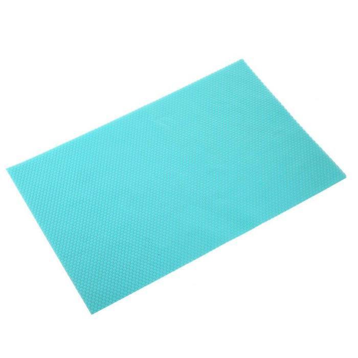 Антибактериальные коврики для холодильника (4 шт.) - бирюзовые (NS)
