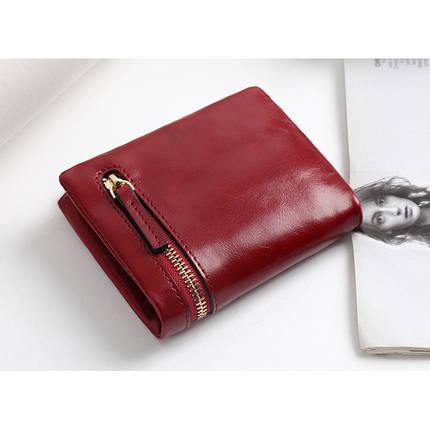 Кошелек женский кожаный Beverly красный eps-4049, фото 2