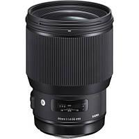 Объектив Sigma 85mm f1.4 DG HSM Art Lens for Sigma SA (321956), фото 1
