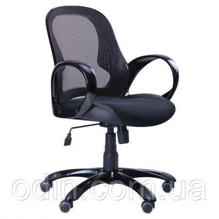 Кресло Матрикс-LB Черный, сиденье Сетка черная/спинка Сетка черная 024367