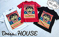 Женские футболки Гуччи с котом (черная, белая, красная)