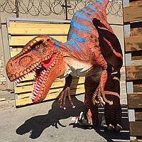 Шагающий динозавр