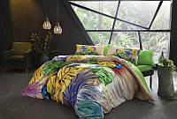 TAC Havana yellow  Бамбук  евро постельное белье