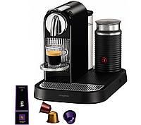 Кофеварка MAGIMIX 11300 Nespresso CitiZ и молокосбиватель  - черный кофеварка кофе кава кавомашина к