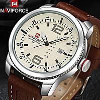 Военные противоударные мужские часы Naviforce Target (№9063) Для настоящих мужчин