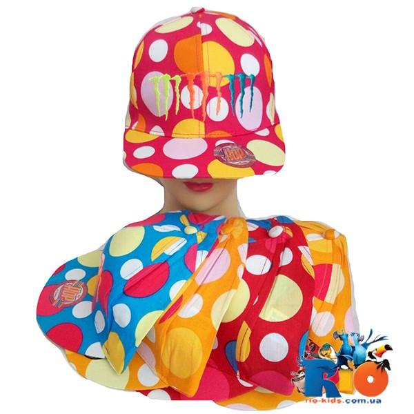 Детская кепка Рэп, для девочки р-р 52-54 (5 ед в уп)