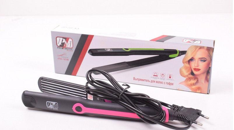 Гофре-выпрямитель для волос Promotec PM1217