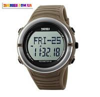 Спортивные часы Skmei 1111 с Пульсометром и Шагомером.