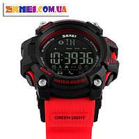 Умные часы Skmei Smart c Bluetooth.Red. Водонепроницаемость 5 АТМ.