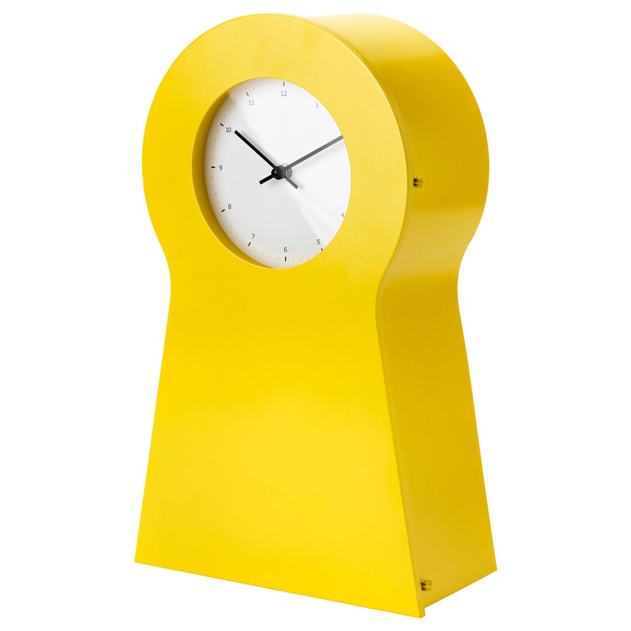 ИКЕА ПС 1995 Часы, желтый 80271907 IKEA, ИКЕА, IKEA PS 1995