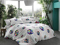 TAC Rainbow Бамбук  евро постельное белье