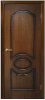 Дверное полотно Виктория ПГ орех лесной