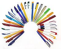 Ручки пластиковые под нанесение логотипа