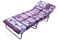 """Раскладушка - кровать на ремнях """" М60 """" с матрасом и подушкой"""