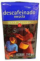 Кофе без кофеина молотый Hacendado Mezcla 250г