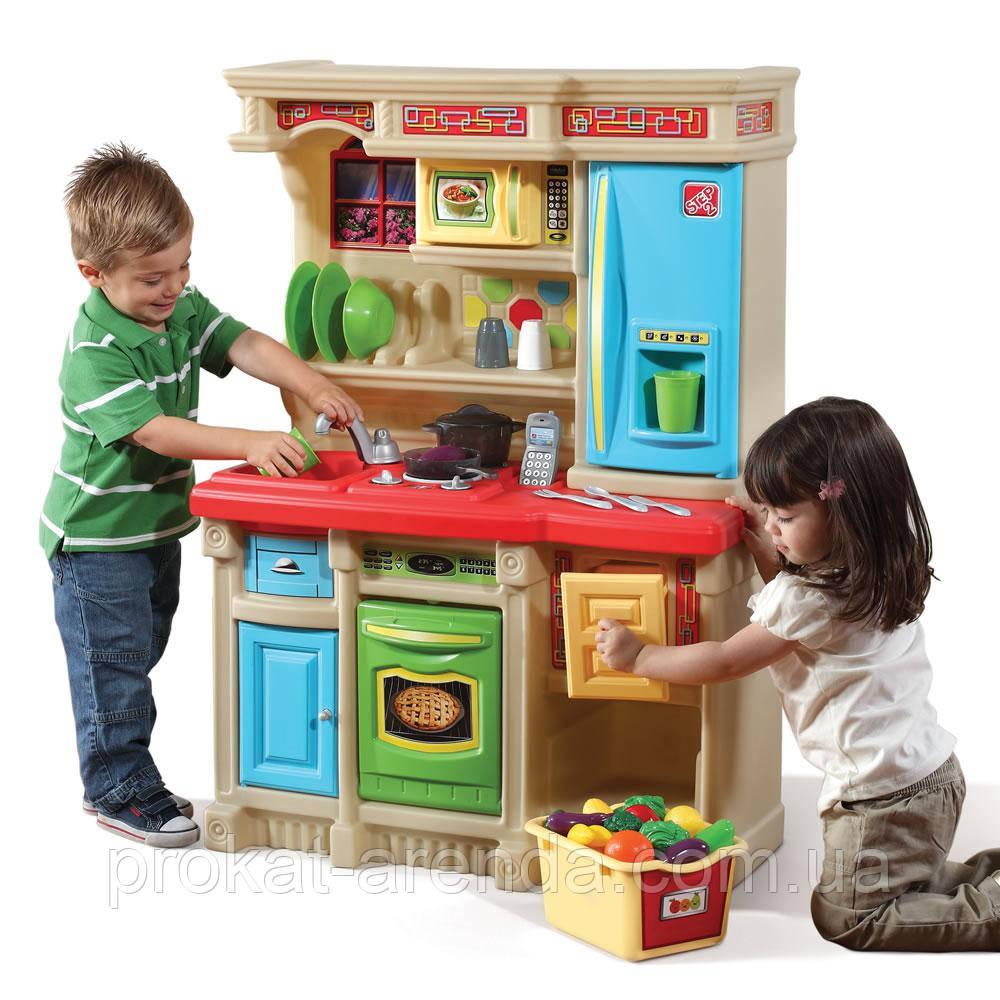 """Игровая детская кухня """"Cтильная кухня для жизни"""" STEP 2"""