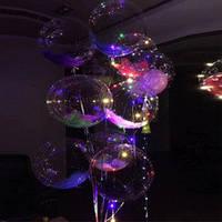 Кульки повітряні з підсвічуванням ROUND BOBO-BALLOONS, фото 1