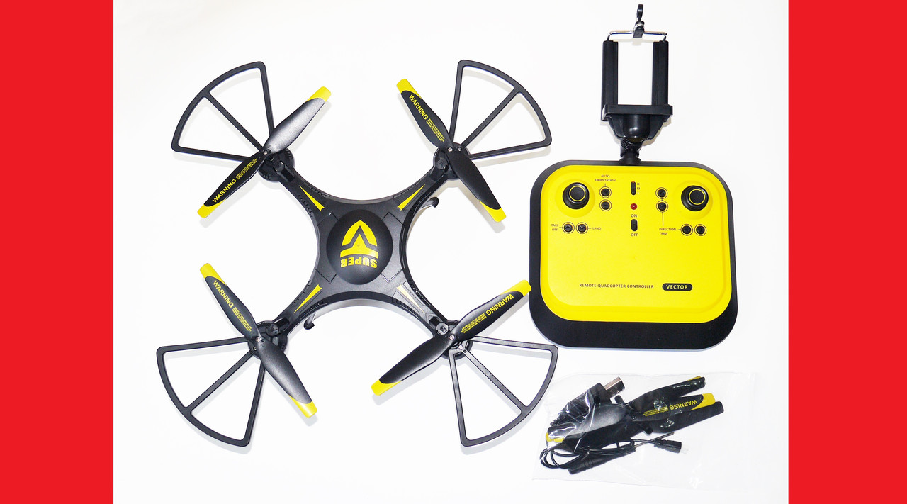 Квадрокоптер-дрон Quadcopter Leason LS-129W c WiFi камерой