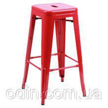 Табурет Хокер Loft Metal Красный 512045