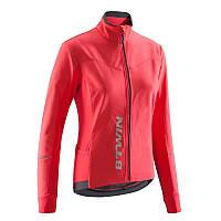 B'TWIN Куртка велосипедная женская 500 розовая