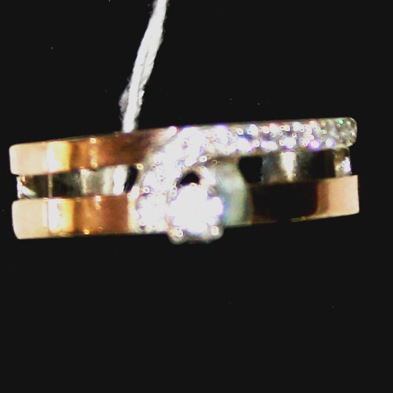 Срібна каблучка з золотими пластинами  продажа 87979e75b3ccf