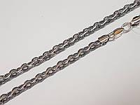 Серебряная цепочка (Ореховый). Артикул 1051-ч 55, фото 1