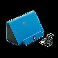 Колонка подставка беспроводная для телефона Best Core Голубая