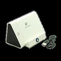 Колонка подставка беспроводная для телефона Best Core Белая