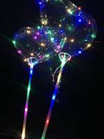 Шарики воздушные с подсветкой BOBO-BALLOONS-сердечко, фото 1