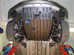 Защита картера двигателя для Nissan Qashqai J10 '06-14 гг, 1,6, АКПП; 2,0, АКПП (пр-во Полигон-Авто)