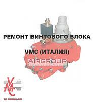 Ремонт винтового блока VMC