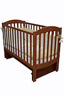 Детская кроватка Верес соня ЛД10 120*60 маятник без ящика ольха