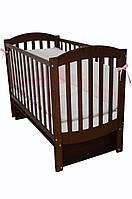 Детская кроватка Верес соня ЛД10 120*60 маятник без ящика орех