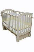 Детская кроватка Верес соня ЛД10 120*60 маятник без ящика сл. кость