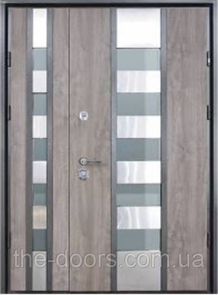 Двери STRAJ Proof полуторные модель Стрим Double SL