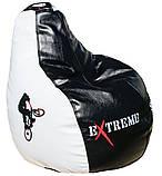Безкаркасне крісло мішок груша пуф для підлітків і дітей, фото 7