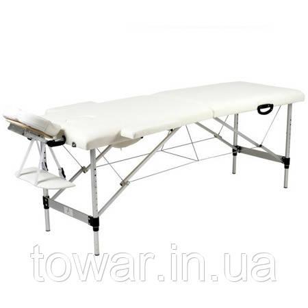 Массажный стол алюминиевый 2-х сумка Польша