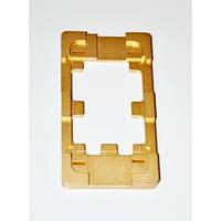 Форма металлическая для APPLE iPhone 4/4S, для фиксации комплекта дисплей + тачскрин при склеивании