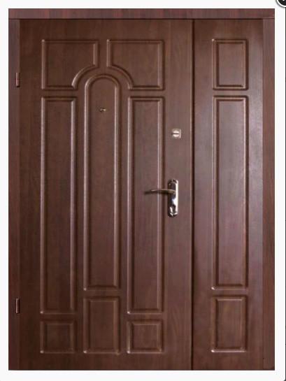 Двери входные БЕСПЛАТНАЯ ДОСТАВКА в частный дом 1,20 х 2,05