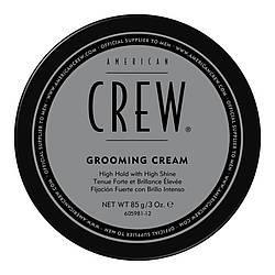 Крем для стайлинга сильной фиксации с блеском American Crew Grooming Cream - 85гр
