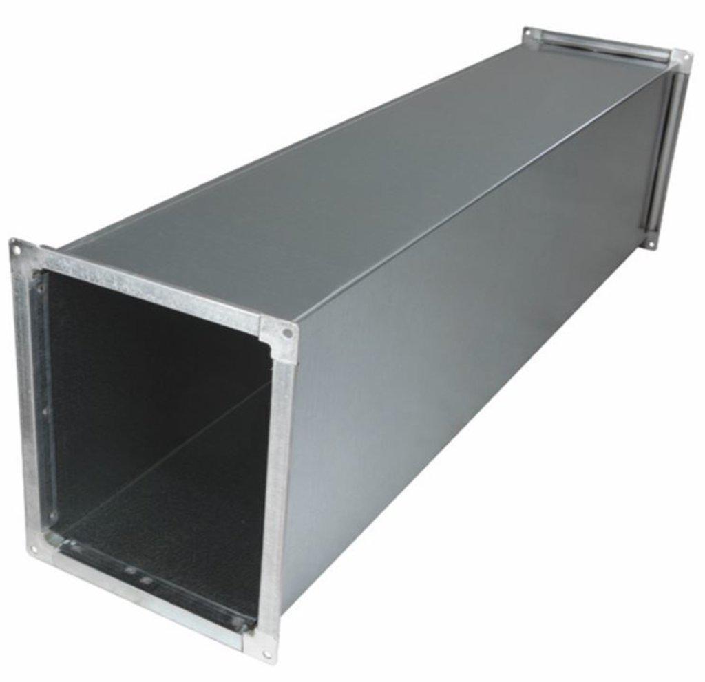 Воздуховоды прямоугольного сечения из оцинкованной стали, толщина стали 0.5 мм