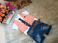 Летний костюм для мальчика Оптом и в розницу Турция  от 1 до 4 лет, фото 1