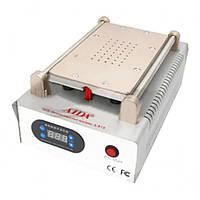 """Сепаратор 8.5"""" (19 х 11 см) AIDA A918 со встроенным компрессором для вакуумного способа фиксации стекла"""