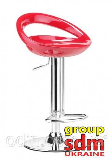 Стул барный Торре, пластиковое сиденье, цвет красный SDM0080081RO
