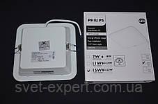 DN027B LED12/NW L150 SQ 14W квадрат светильник Philips, фото 2