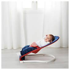 ТОВИГ Переносное кресло для младенца, синий, красный 50167969 IKEA, ИКЕА, TOVIG, фото 3
