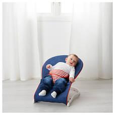 ТОВИГ Переносное кресло для младенца, синий, красный 50167969 IKEA, ИКЕА, TOVIG, фото 2